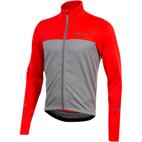 PEARL iZUMi Quest Maillot Térmico Manga Larga Hombre, torch red/smoked pearl